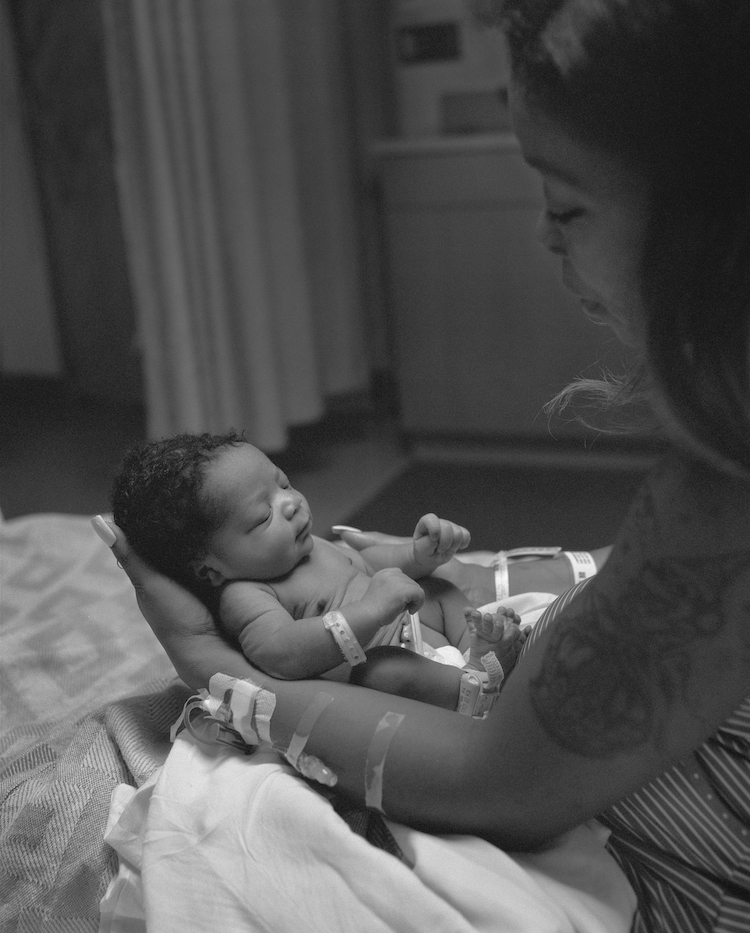 Kingston weighed in at a healthy 6 pounds, 13 ounces © LaToya Ruby Frazier Courtesy the Artist and Gavin Brown's enterprise, New York / Rome